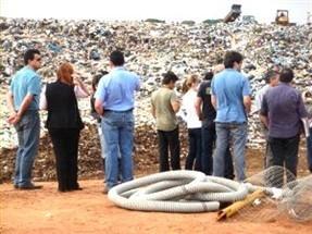 Técnicos do TCE fazem fiscalizações em aterros e lixões da região