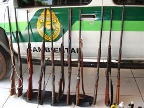 Polícia Ambiental apreende 40 quilos de animais silvestres que seriam comercializados em forma de embutidos na região de Cianorte