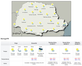 Pela primeira vez desde 1999 não choveu uma gota em Maringá no mês de julho