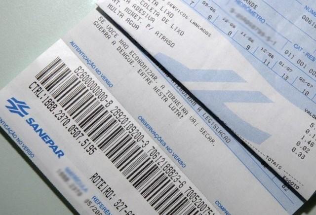 Sanepar amplia rede de pagamento para contas com mais de 25 dias de atraso