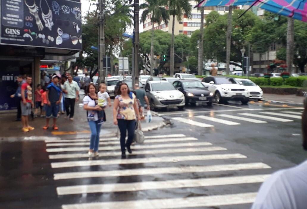 Você acha seguro atravessar as ruas e avenidas de Maringá?