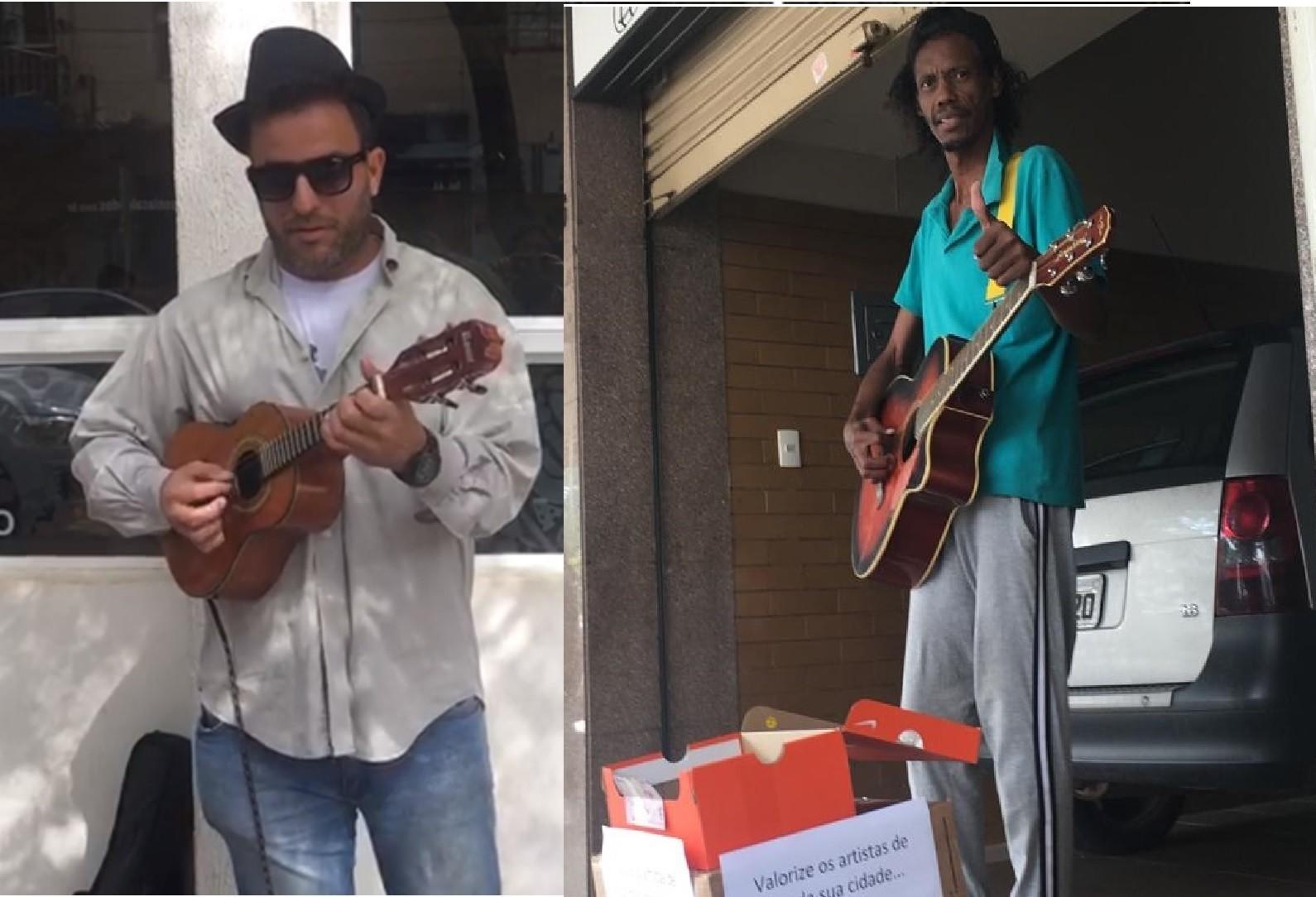 Músicos de rua ganham as calçadas de Maringá