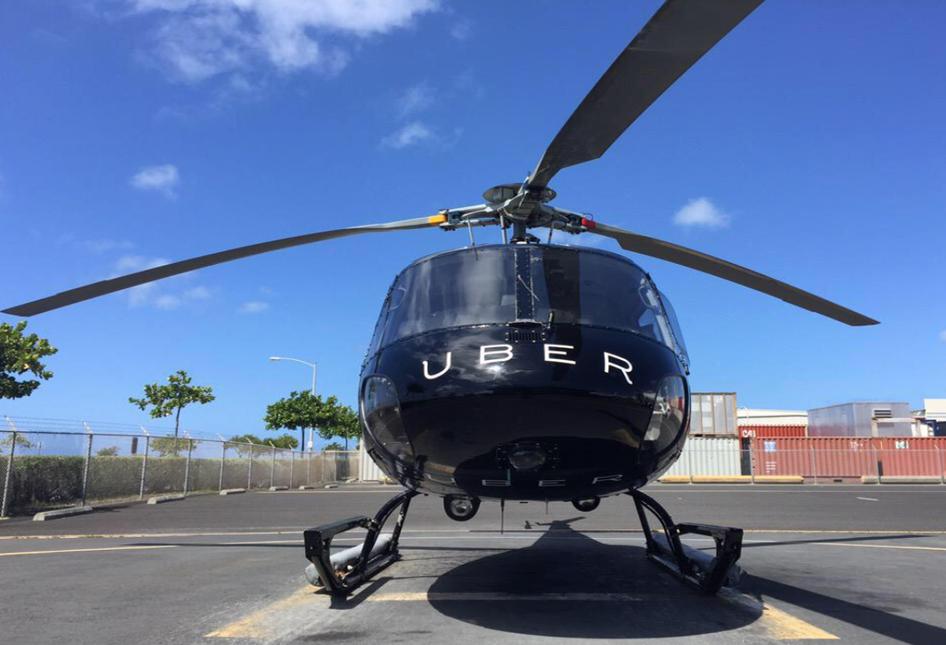 Projeto de Ubercoptero é lançado nos EUA