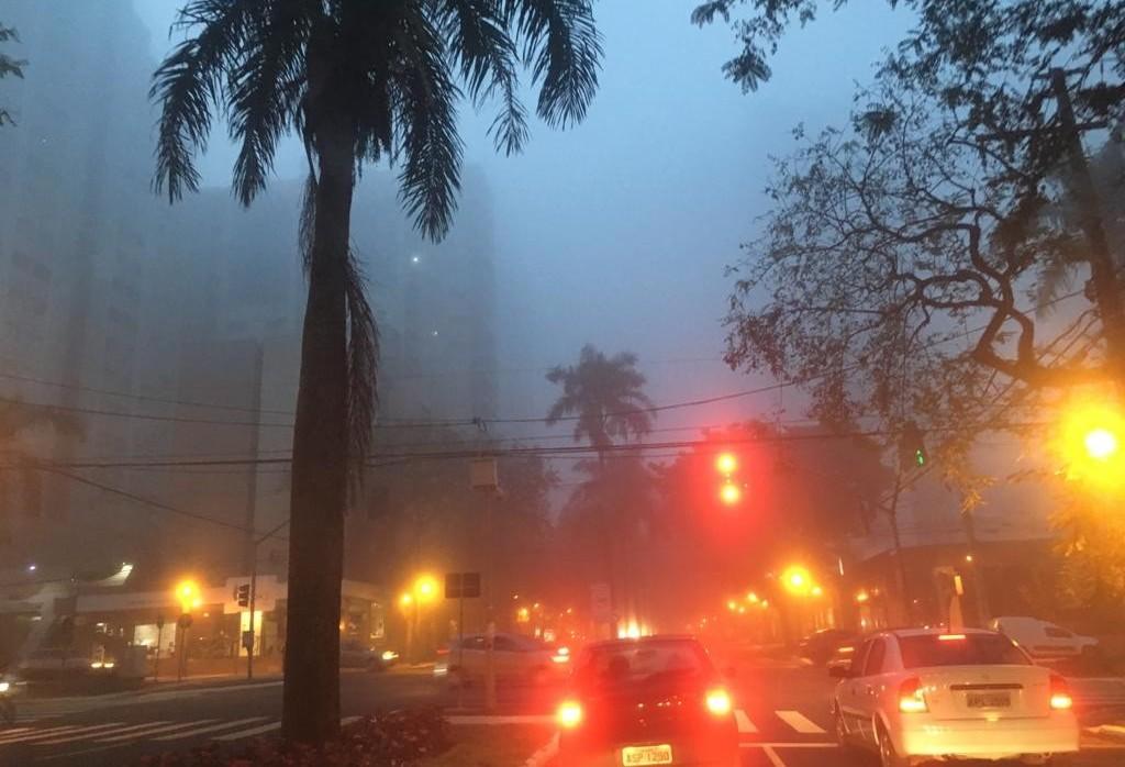 Terça-feira (2) amanhece com neblina e máxima é de 27 °C