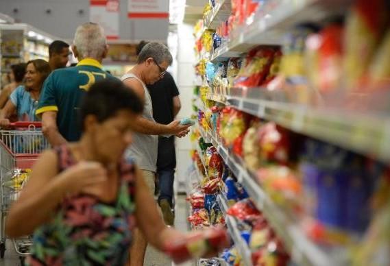 Vendas nos supermercados brasileiros cresceram 2,28% no primeiro trimestre
