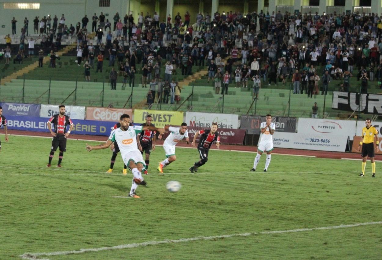Na segunda colocação, Maringá Futebol Clube quer mais