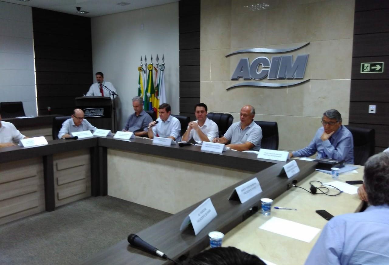 Empresários se reúnem com Ratinho Jr em Maringá