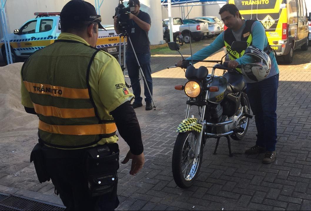 Maringá tem 96 mototáxis e 36 motofretes cadastrados