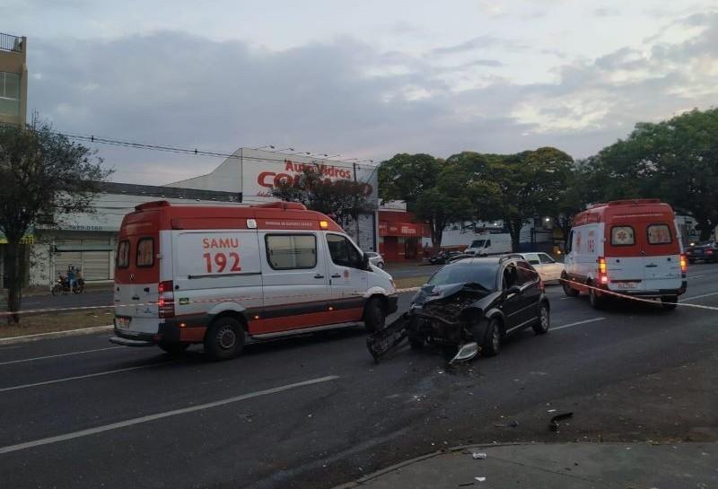 Vídeo flagra acidente que matou mulher na avenida Colombo