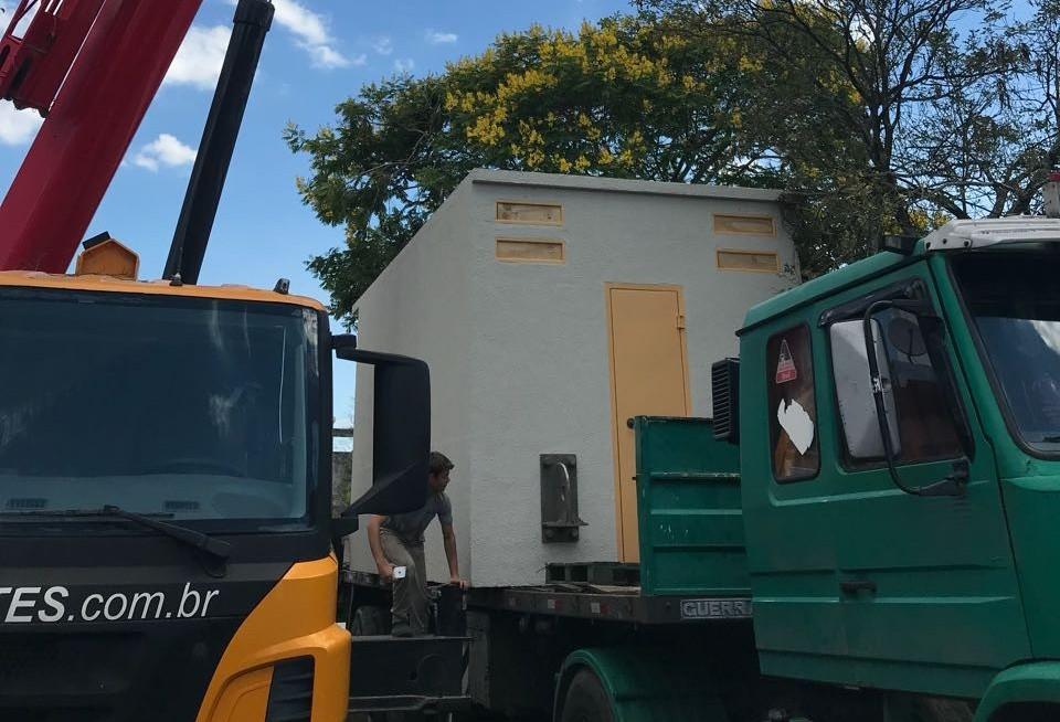 Casa de Custódia recebe primeira cela modular
