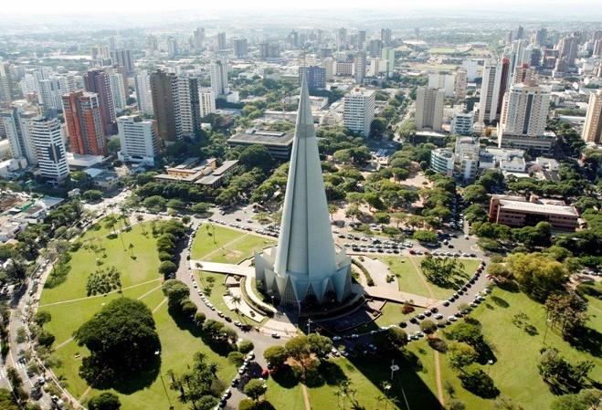 População de Maringá chega a 417 mil pessoas