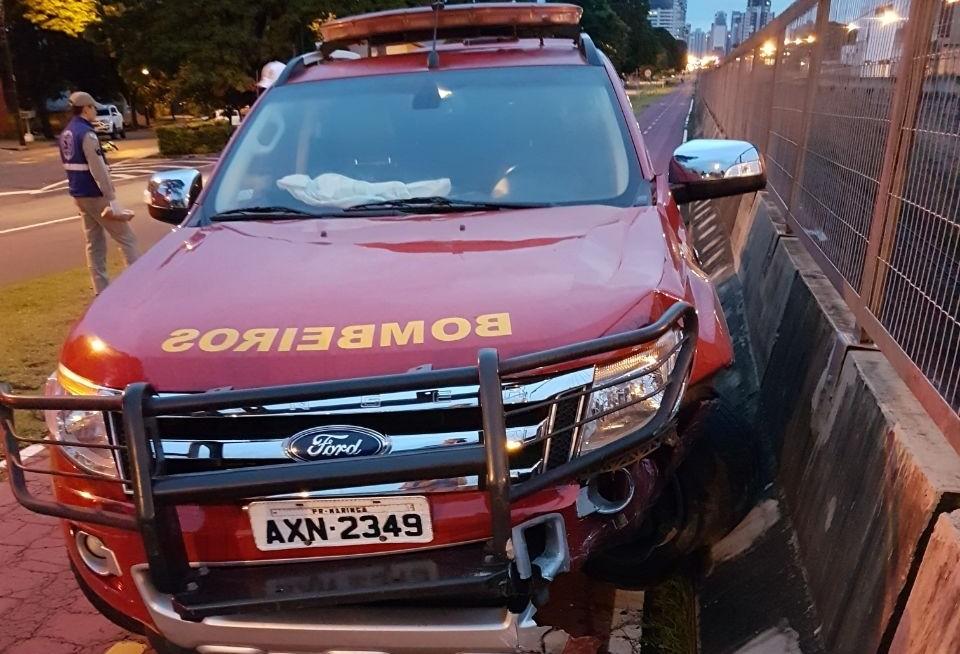 Motorista que bateu contra viatura do Siate será preso