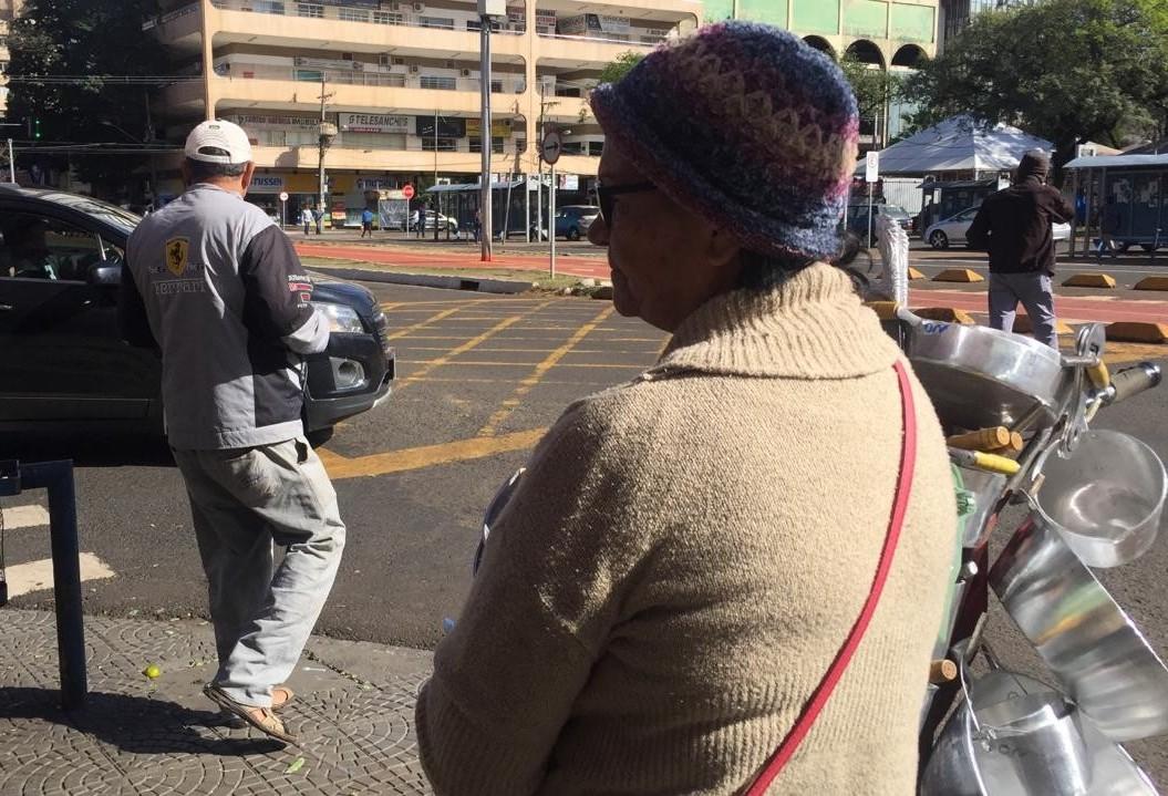 Temperatura despenca em Maringá e pega muita gente de surpresa