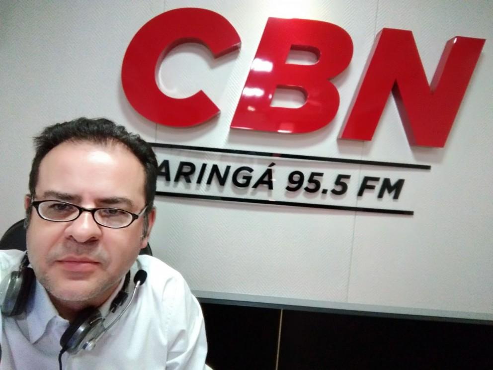 Gilson Aguiar comenta o aumento da frota de veículos de Maringá