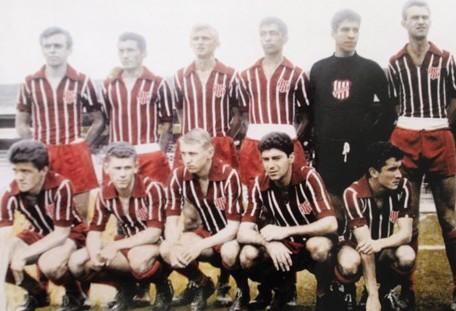 Britânia, time de Curitiba, foi um dos grandes campeões paranaenses