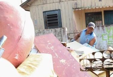 Nesse fim de semana, tem bota-fora em bairros de Maringá