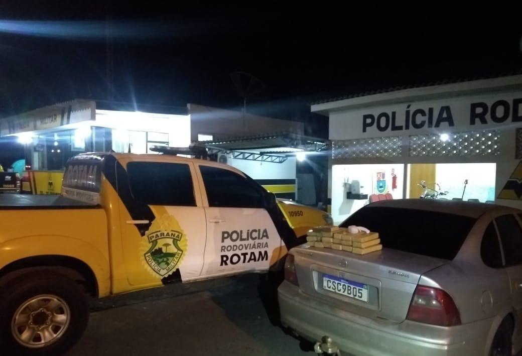 Casal é preso com 14 kg de maconha em Cianorte