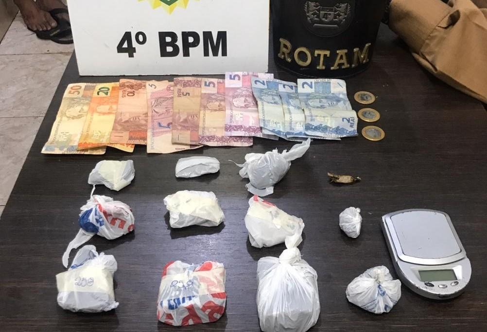 Adolescente é apreendido na Vila Morangueira por tráfico de drogas