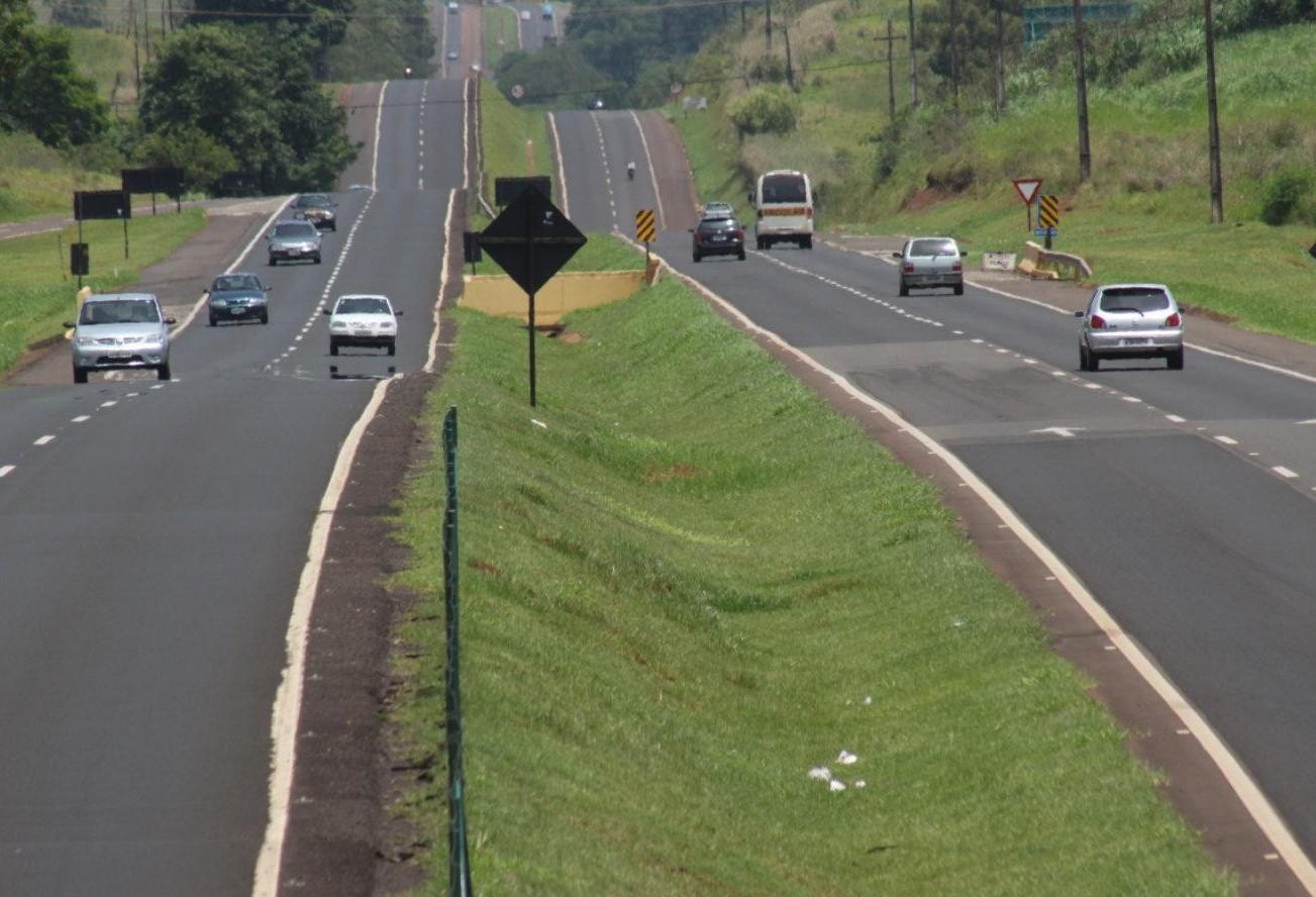 Dez acidentes até o momento nas estradas da região de Maringá