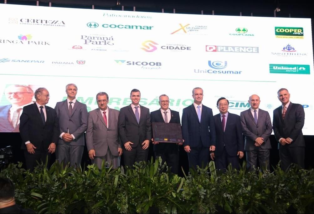Presidente de cooperativa de crédito é eleito Empresário do Ano