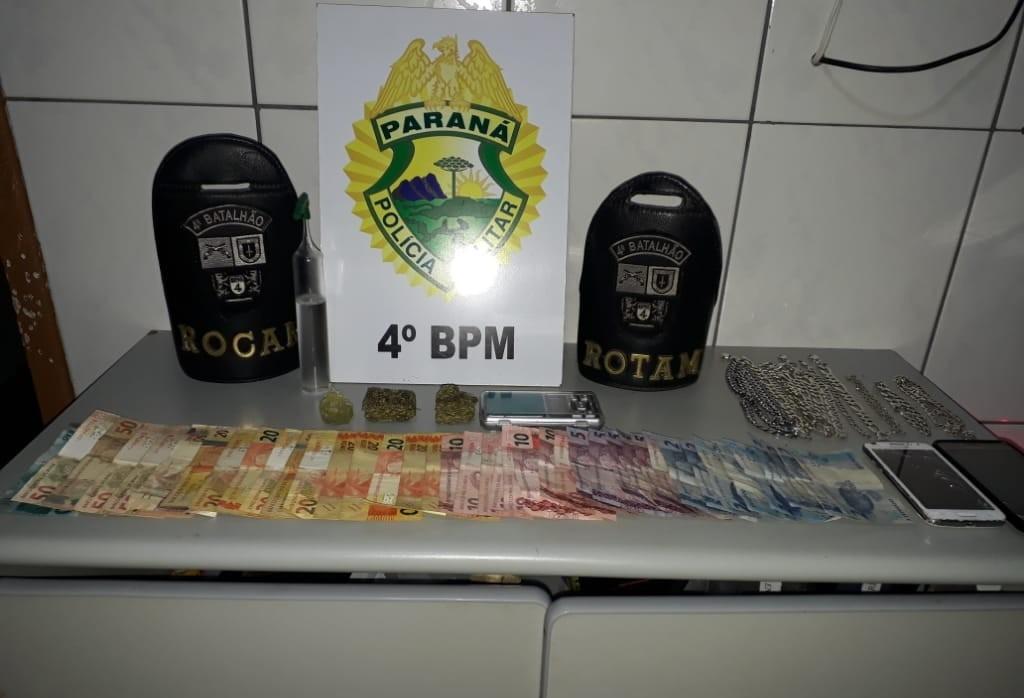 Homem é preso por tráfico de drogas em Mandaguari