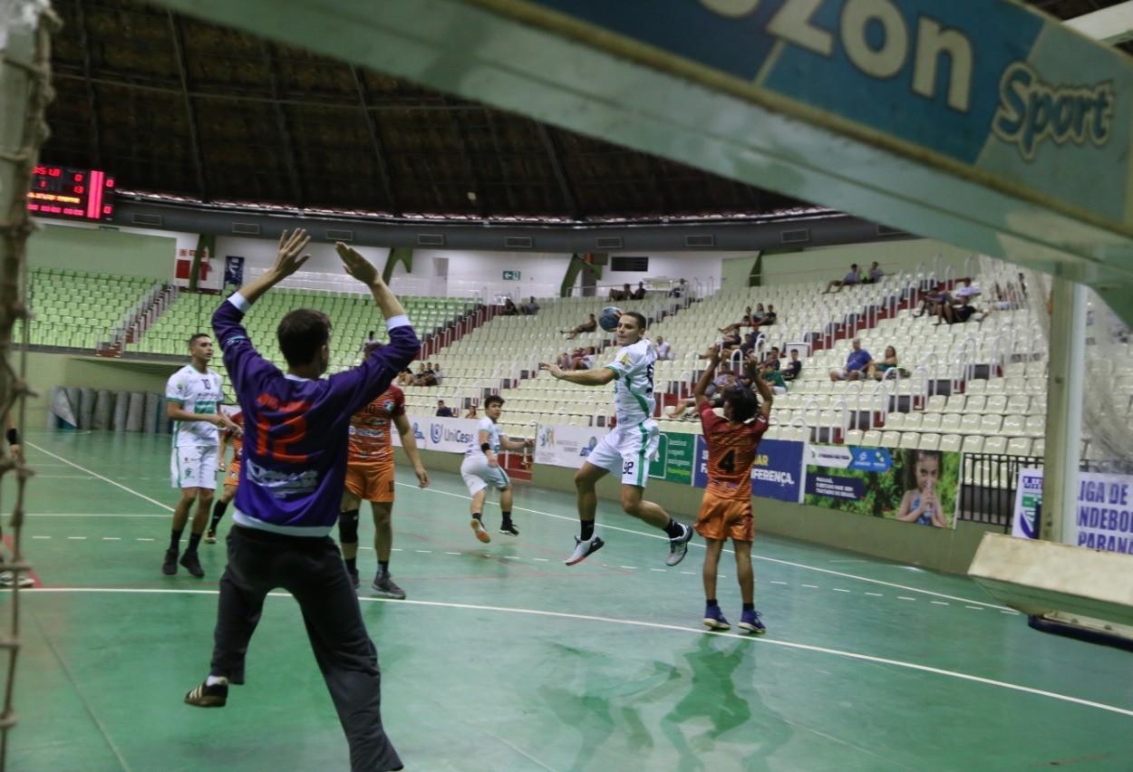 Equipes maringaenses lideram Campeonato Paranaense de Handebol
