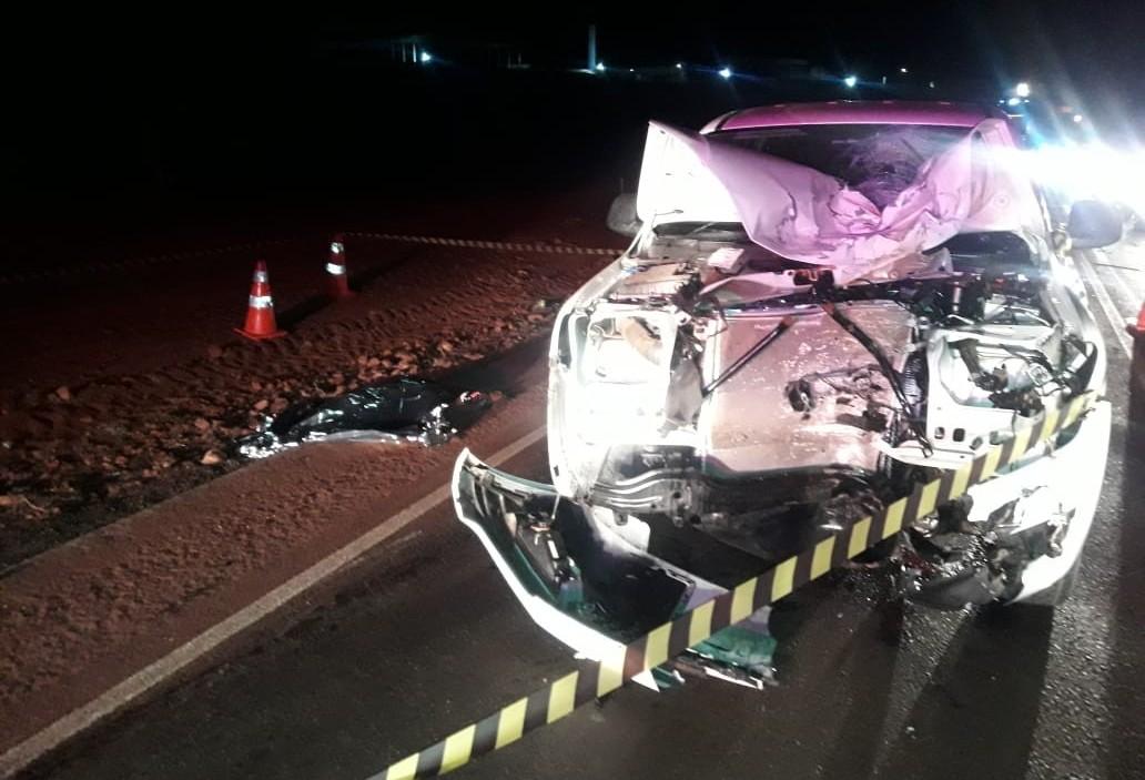 Motociclista morre em acidente na PR-323