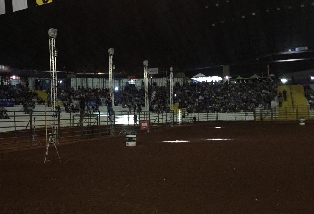 Expoingá é palco de uma das etapas do maior campeonato de montaria em touros do mundo