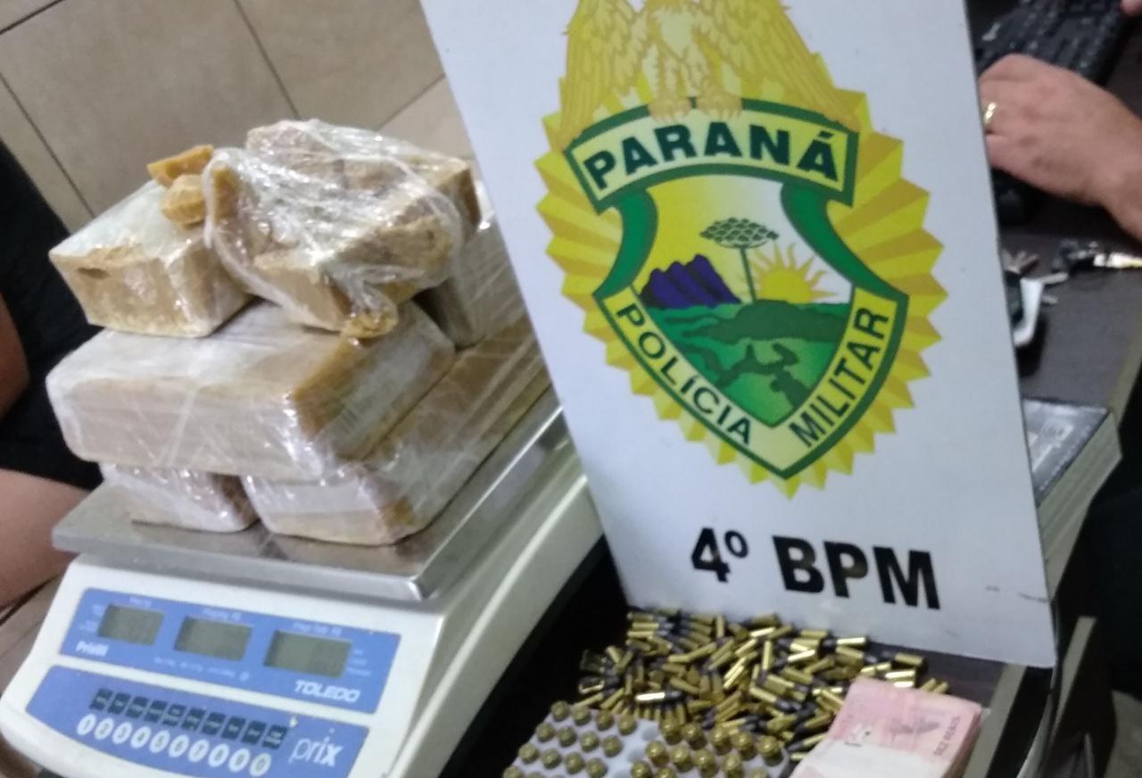 Polícia fecha ponto de drogas e prende dois homens em Maringá