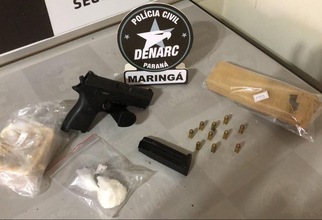 Denarc prende sete suspeitos em Maringá e região