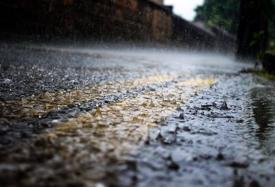 De sábado até esta segunda-feira (2) choveu 50 milímetros em Maringá