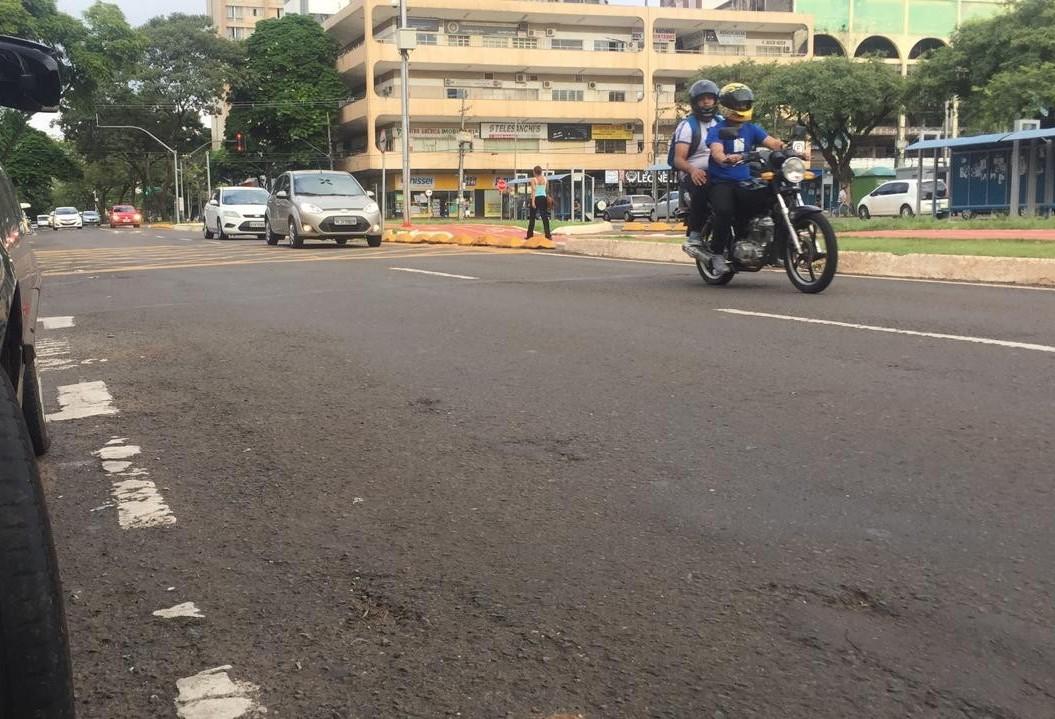 Frota de motos cresce mais do que de carros em Maringá