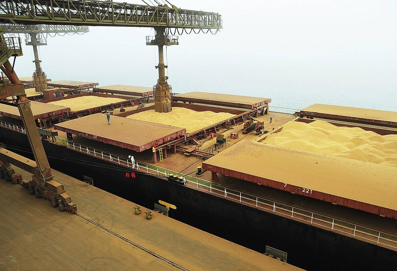 Avanço da exportação destravou negociações da soja