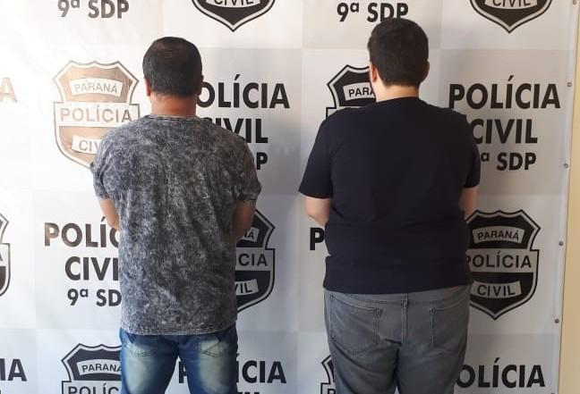 Duas pessoas são presas em Maringá e Mandaguari