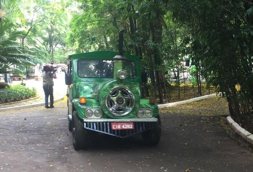Prefeitura vai licitar operação do trenzinho para o Parque do Ingá