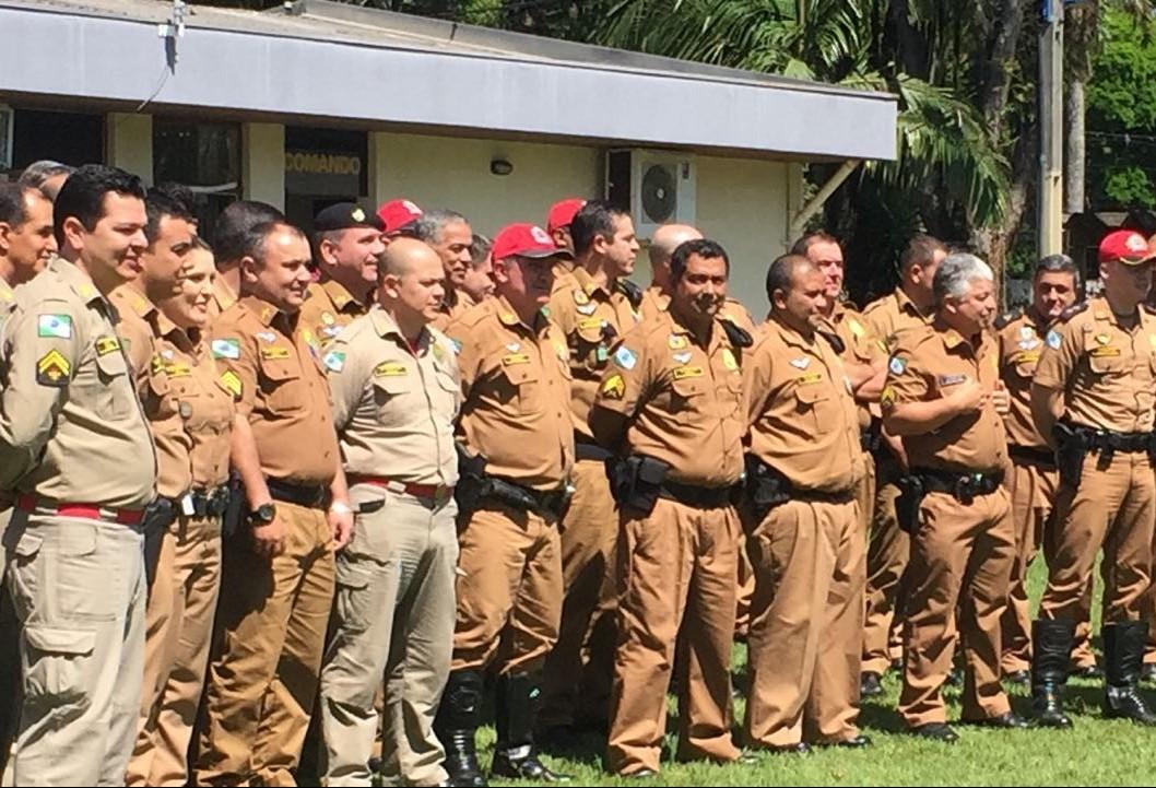 700 policiais militares foram promovidos no Paraná