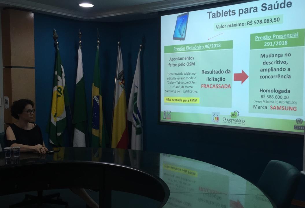 Observatório Social aponta retrocesso na transparência da prefeitura