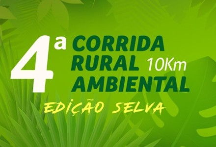 Abertas as inscrições para 4ª Corrida Rural Ambiental