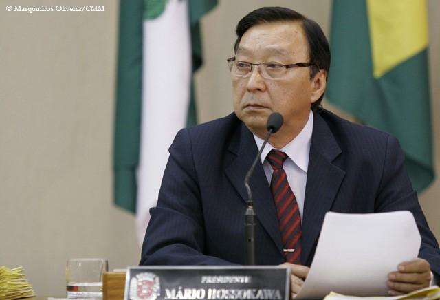 Mário Hossokawa é reeleito presidente da Câmara
