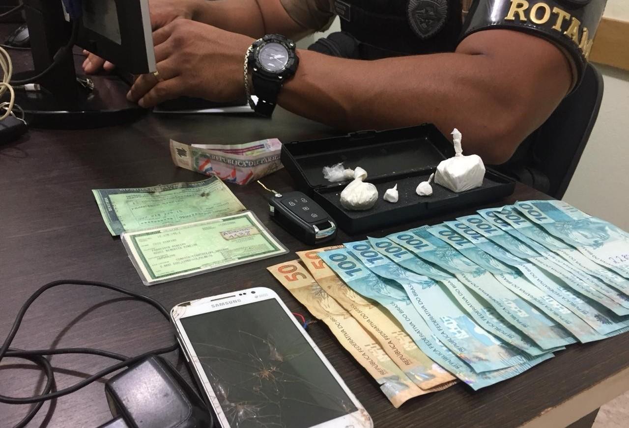 Polícia prende homem suspeito de tráfico de drogas em Sarandi