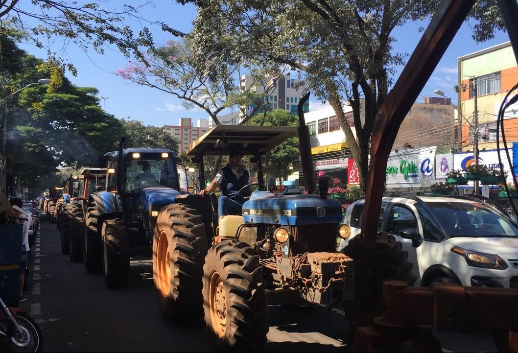 Mais uma manifestação é registrada em Maringá