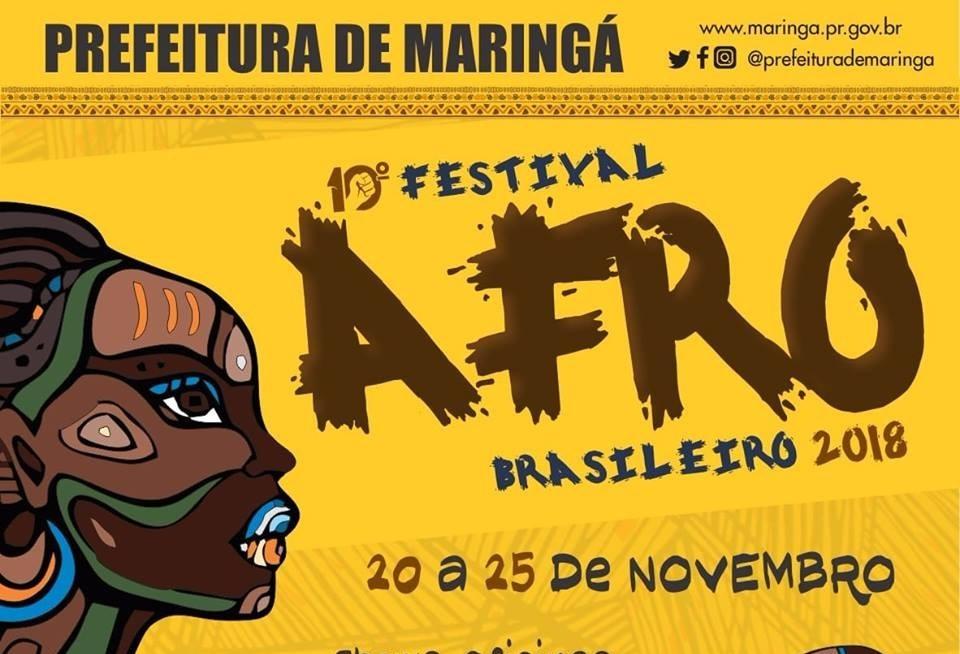 Festival Afro-Brasileiro terá mais de 30 atividades este ano