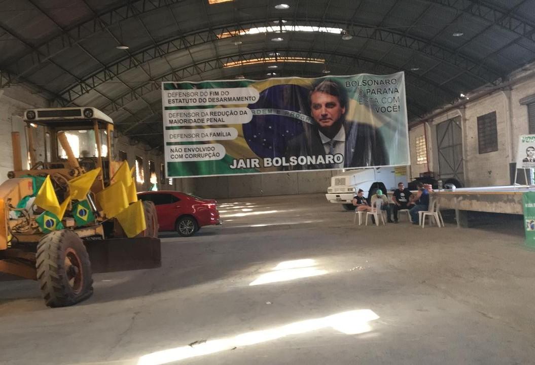 Eleitores organizam comemoração