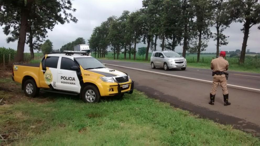 77 motoristas são flagrados acima da velocidade nas rodovias da região