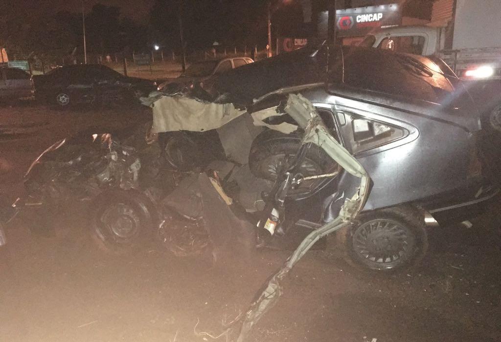 Mulher morre atropelada na BR-376, em Maringá