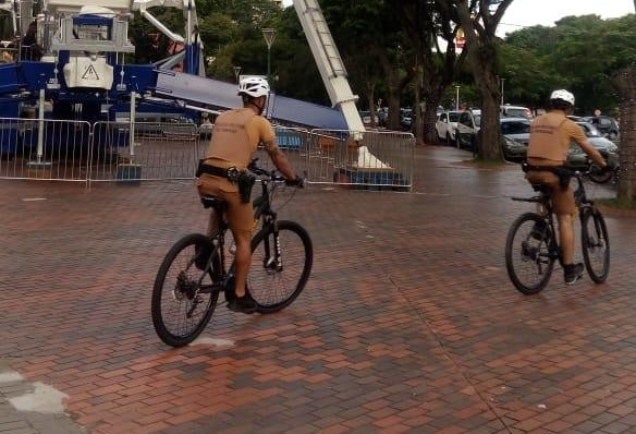 Ciclopatrulha registrou 50 BOs em Maringá