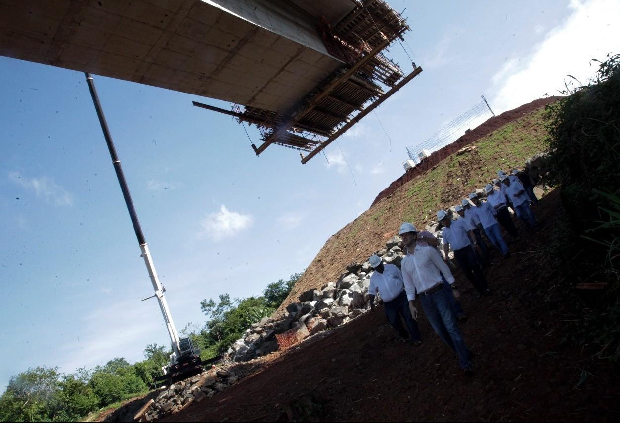 Nova ponte sobre o Rio Ivaí na PR-317 será entregue em março