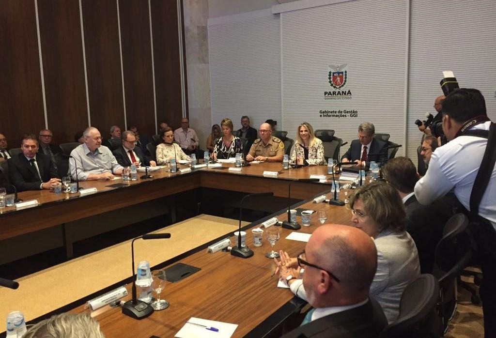 Governadora Cida Borghetti anuncia novos secretários