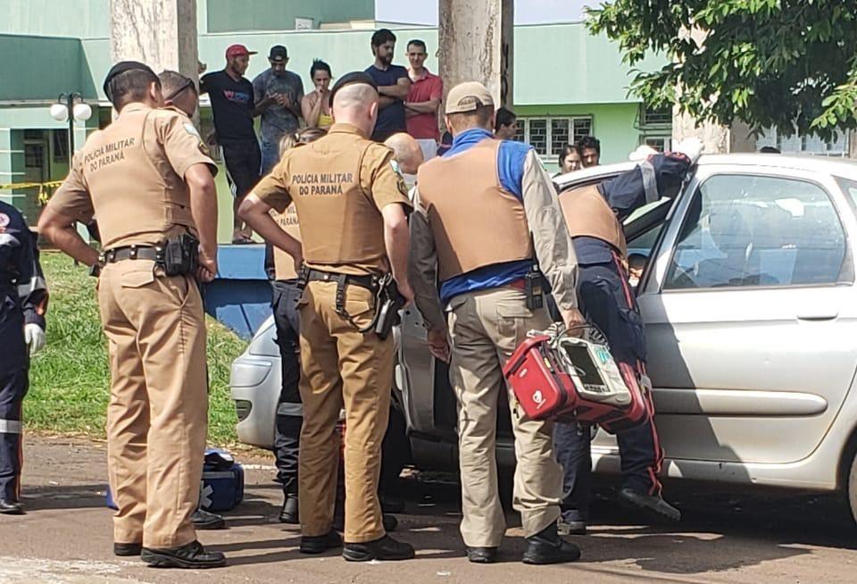 Jovem é morto com 12 tiros dentro de carro em Sarandi