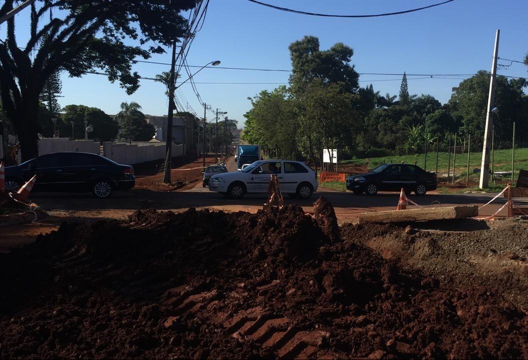 Duplicação chega à Avenida Teixeira Mendes